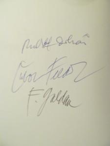 Podpisy Dobiaša, Feldeka a Guldana